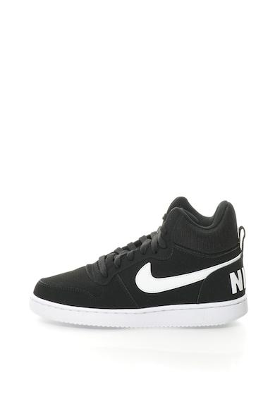 sale retailer f076d 0282c Nike Pantofi sport mid-high cu insertii de piele intoarsa Court Borough  Femei