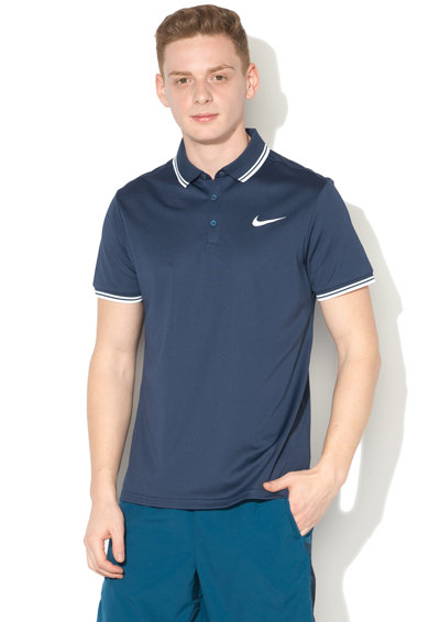 Nike Тениска с яка за тенис Мъже