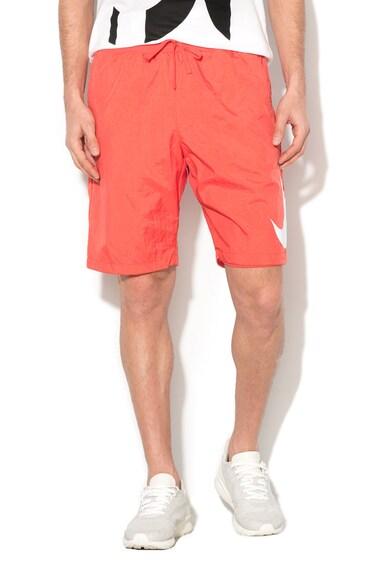 Nike Pantaloni scurti cu captuseala de plasa prevazuti cu snur Barbati
