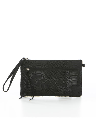 Anna Morellini Black, Dame,  natural leather produced in Italy női