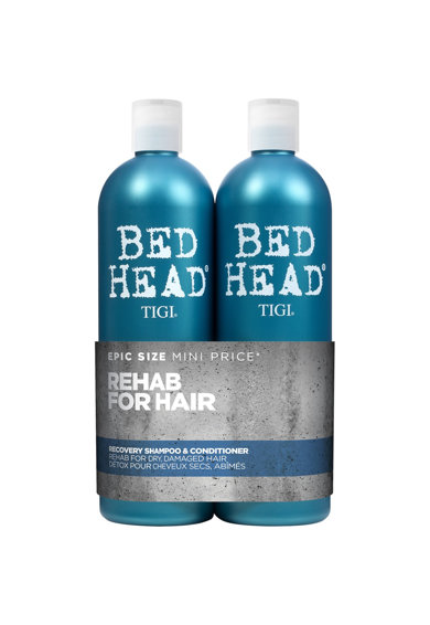 Tigi Set ingrijire par  Bed Head Recovery pentru par uscat: Sampon, 750 ml + Balsam, 750 ml Femei