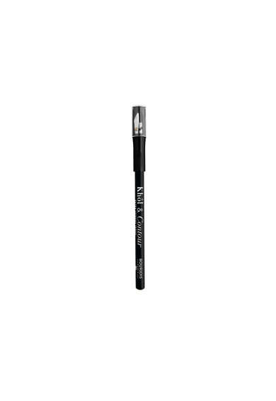 Bourjois Creion de ochi  Khol&Contour cu ascutitoare 01 Black, 1.14 g Femei