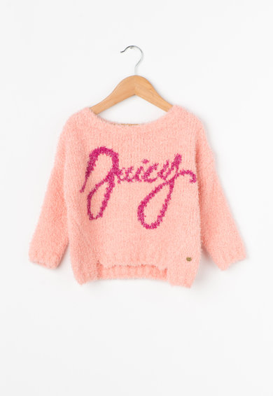 Juicy Couture Pulover roz pal pufos Fete