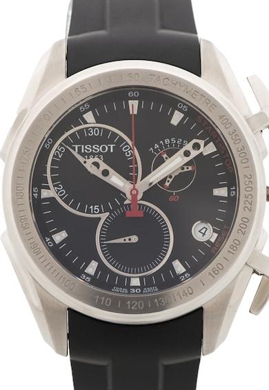 Tissot Черен часовник с хронограф Мъже