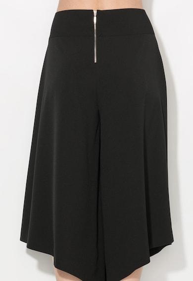 Zee Lane Collection Fusta-pantalon neagra asimetrica Femei