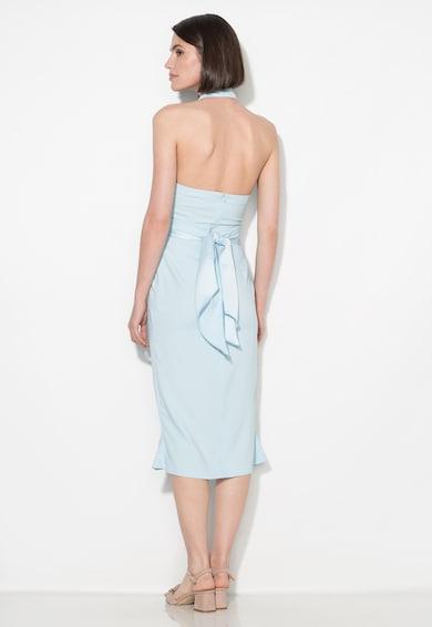 Zee Lane Collection Rochie bleu cu decolteu halter Femei