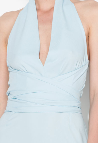 Zee Lane Collection Светлосиня рокля с връзка на врата Жени