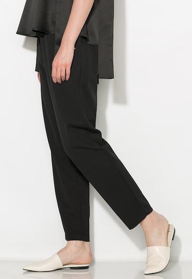 Zee Lane Collection Pantaloni crop negri Femei