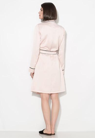 Zee Lane Collection Розова рокля със застъпен дизайн Жени