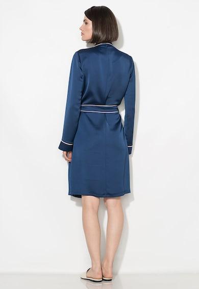 Zee Lane Collection Тъмносиня рокля със застъпен дизайн Жени