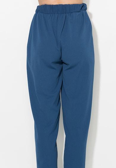 Zee Lane Collection Pantaloni crop albastru inchis Femei