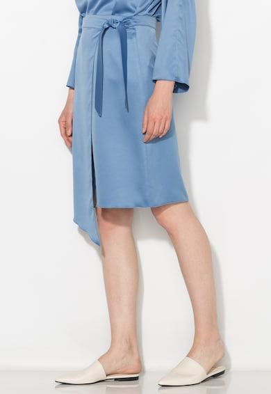 Zee Lane Collection Fusta albastra petrecuta Femei