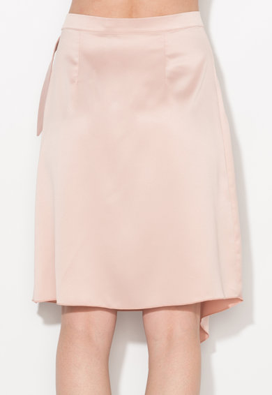 Zee Lane Collection Fusta roz pastel petrecuta Femei
