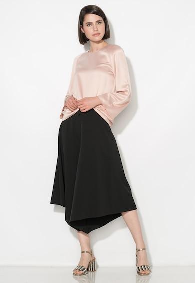 Zee Lane Collection Bluza roz pastel cu maneci evazate Femei