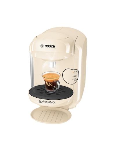 Bosch Tassimo Еспресо машина  Vivy II , 1300w, 3.3 бара, 0.7 л, Самопочистване + Премахване на котлен камък, Капсули, Крем Жени