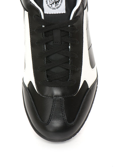 Diesel Actwyngs Fehér&Fekete Bőrcipő férfi