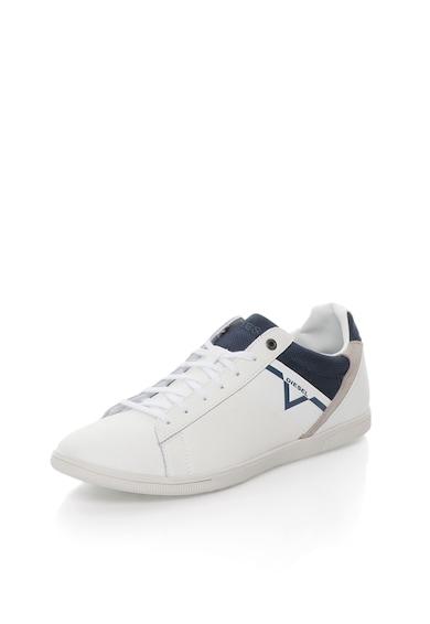 Diesel Бели спортни обувки с апликации Мъже