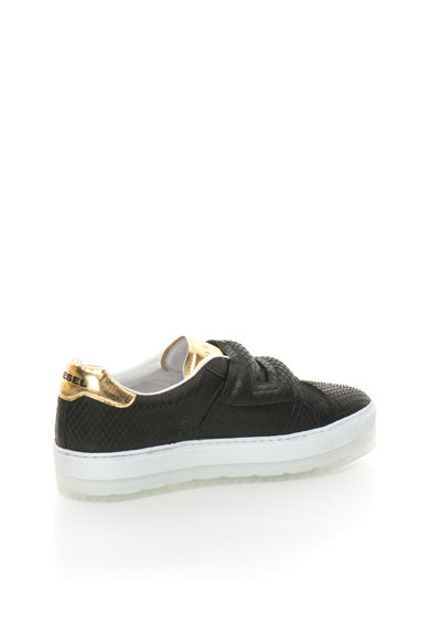 Diesel Pantofi sport negri cu model reptila S Andyes Femei