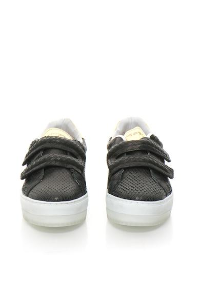 Diesel Черни спортни обувки с шагрен Жени