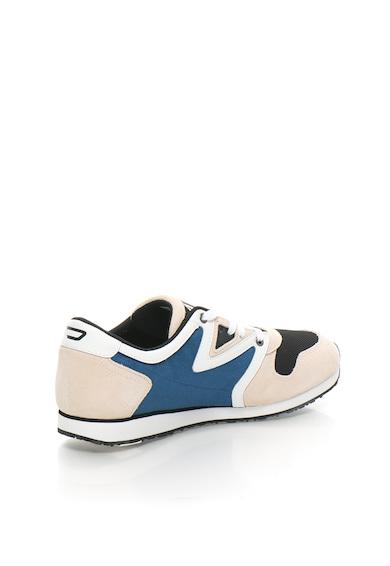 Diesel Спортни обувки в бежово и синьо с велур Мъже