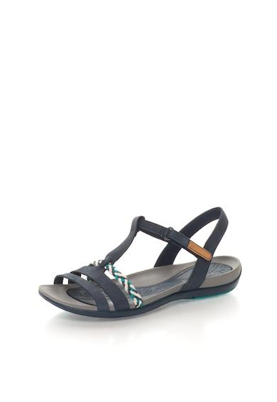 Clarks Тъмносини сандали от кожа Жени