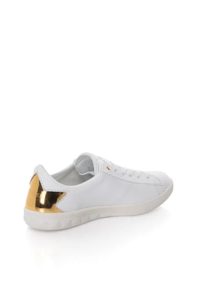 Diesel Кожени спортни обувки S-Olstice със златисти елементи Жени