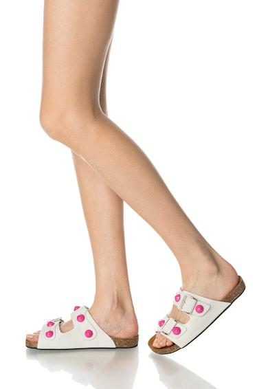 Oakoui Papuci de piele nabuc Femei