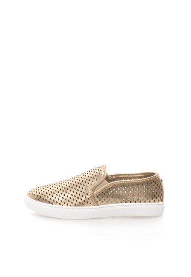 Steve Madden Pantofi slip-on aurii cu perforatii Elouise Femei
