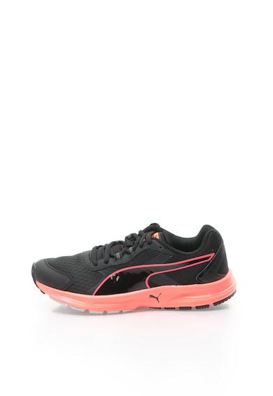 Puma Pantofi negru cu corai pentru alergare Descendant V3 Femei