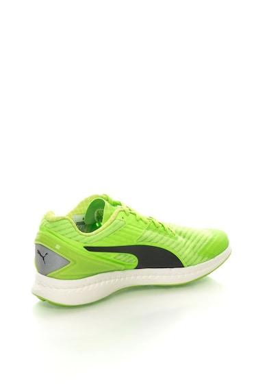 Puma Ignite Neon Zöld&Fekete Futócipő férfi