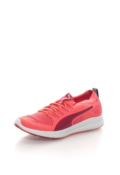 Puma Pantofi sport corai neon Ignite ProKnit Femei