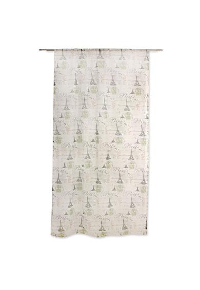 Mendola Home Textiles Перде Tour  140x245 см, Сиво/Зелено Жени