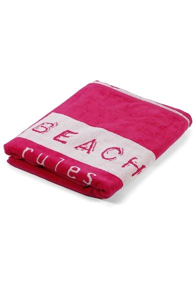 Kring Плажна кърпа  90x170 cм, Have fun, Be happy, Розова Мъже