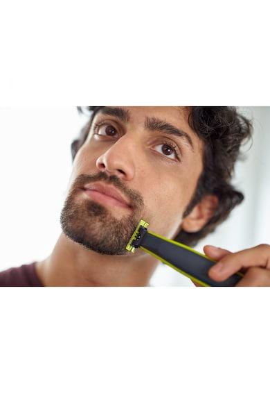 Philips Aparat hibrid de barbierit si tuns barba  OneBlade QP2520/30 Barbati