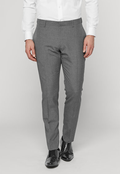 NEXT Pantaloni eleganti skinny gri Barbati