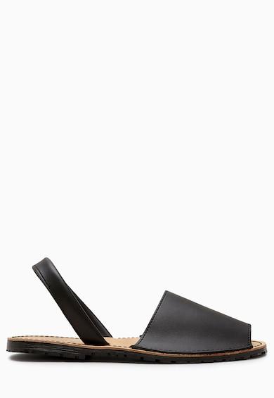 NEXT Sandale slingback negre de piele Femei