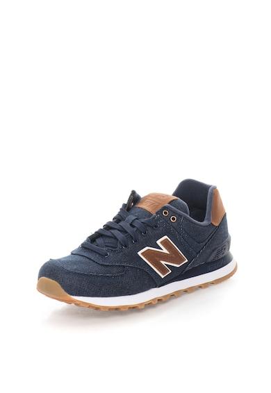 New Balance Сини спортни обувки 574 от деним Мъже