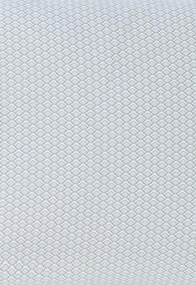 Descamps Horizon Világoskék & Fehér Absztrakt Mintás Párnahuzat 50X75 női