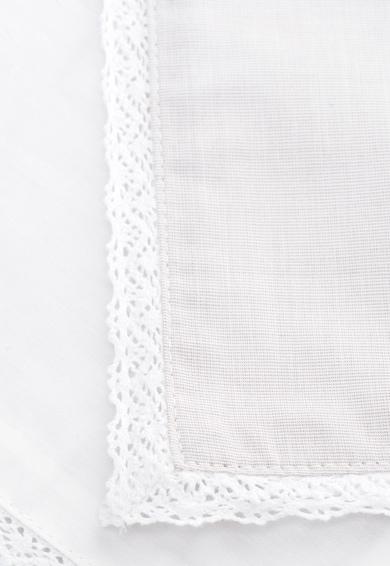 Jardin Secret Калъфка в бяло и светлосиво с бродерии Жени