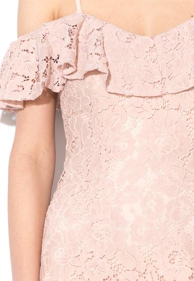 Little Mistress Дантелена рокля с голи рамене Жени