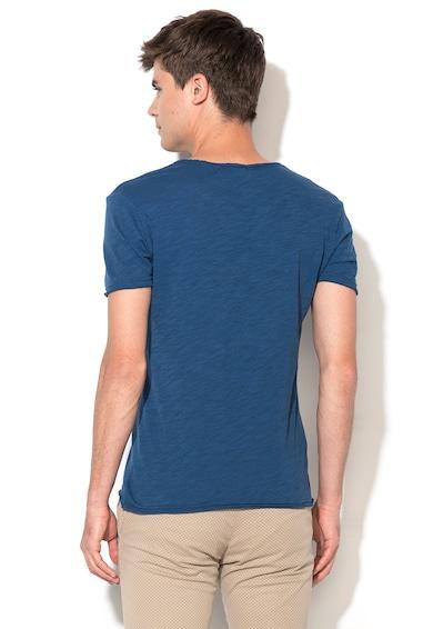 Zee Lane Denim Melange Kék Póló férfi