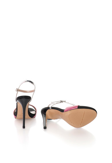 Roberto Botella Sandale roz cu argintiu Femei