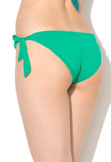 Undercolors of Benetton Slip verde cu prindere laterala Femei