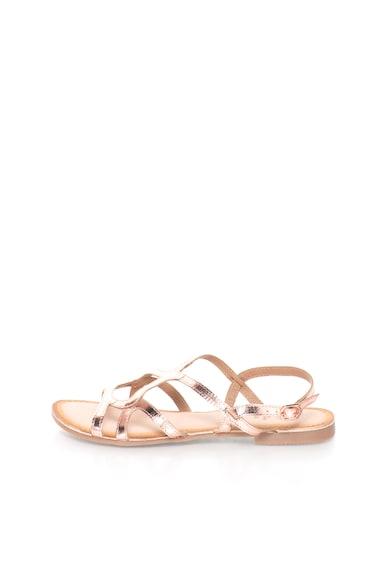 Gioseppo Sandale auriu rose de piele Leonie Femei