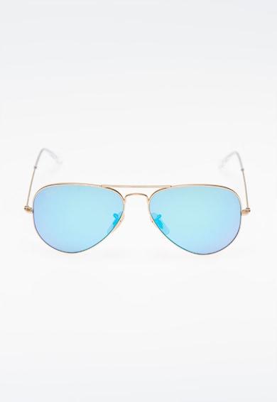 Ray-Ban Unisex Golden Polarized Sunglasses női