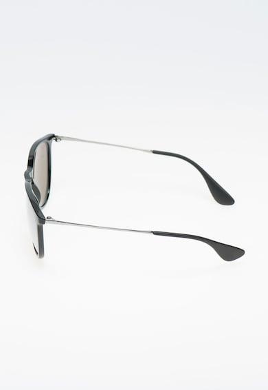 Ray-Ban Ochelari de soare negru cu argintiu si lentile oglinda Femei