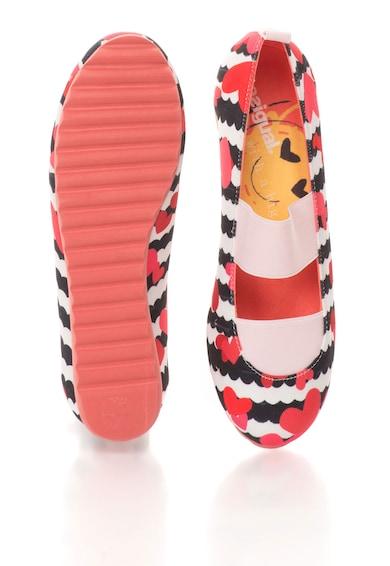DESIGUAL Pantofi multicolori cu benzi elastice Fete