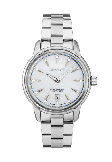 Gant Сребрист часовник Bloomfield Жени