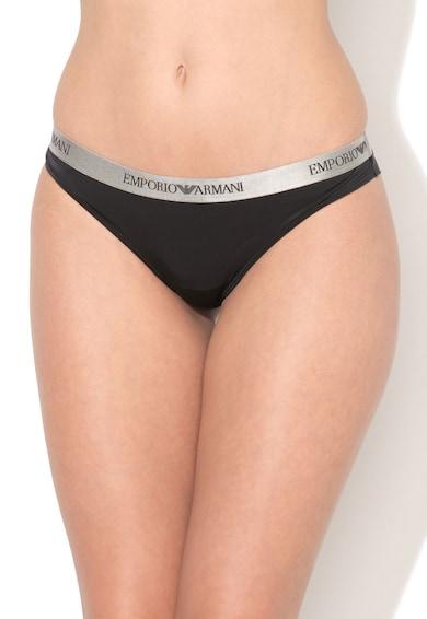 Emporio Armani Underwear Emporio Armani, Chiloti brazilieni negri Femei