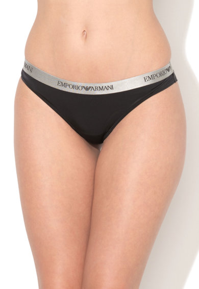 Emporio Armani Underwear Emporio Armani, Черни бикини тип бразилиана Жени